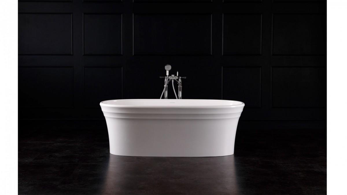 Victoria+Albert Ванна Warndon 170, белая