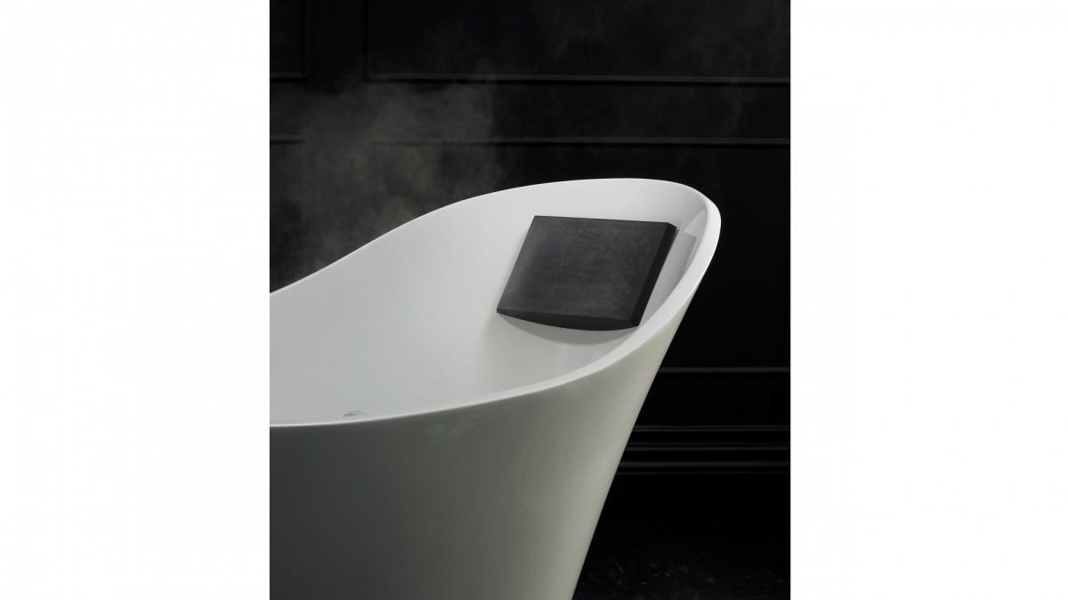 Victoria+Albert Подголовник для ванны Amalfi, черный