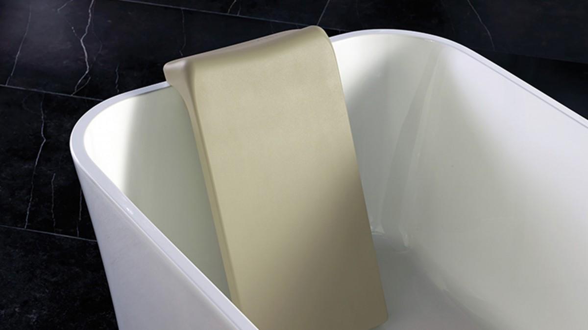 Victoria+Albert Спинка для ванн Edge и Ios, цвет светло-серый